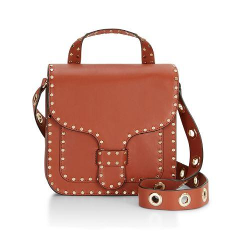 Buttery Leather  Midnighter Top Handle Feed Bag