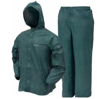 Lightweight Waterproof Breathable Frogg Toggs Men's Ultra-Lite Rain Suit