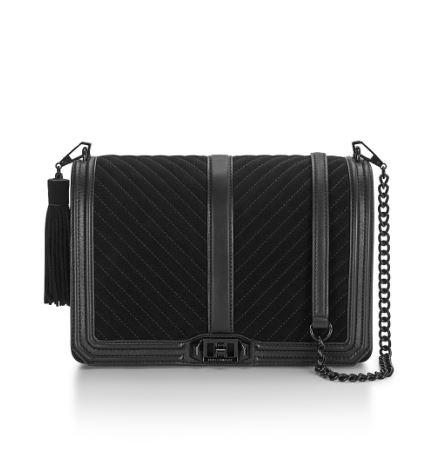Crossbody Chevron Quilted Jumbo Love
