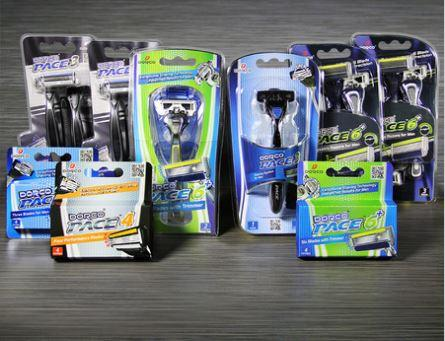 Dorco Razor combo Pace Frugal Dude Pack