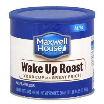 240 cups Maxwell House Wake-Up Roast 30.65 Oz