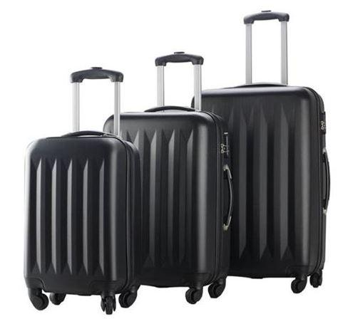 Combination Lock 3-pc Hardside Luggage Spinners Set
