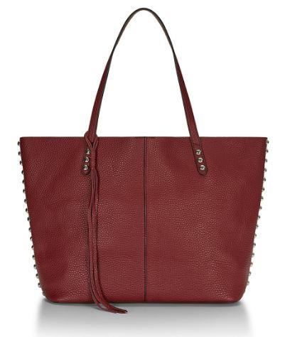 Leather Medium Unlined Tote