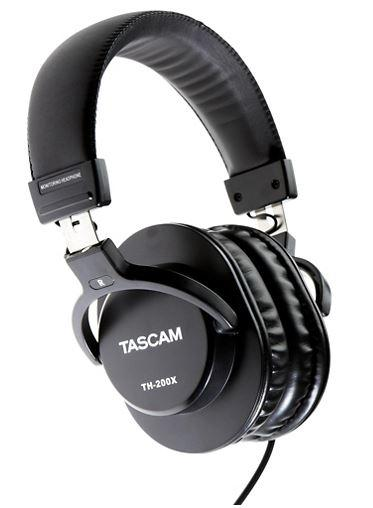 Dynamic Transducer Tascam TH-200X Studio Headphones