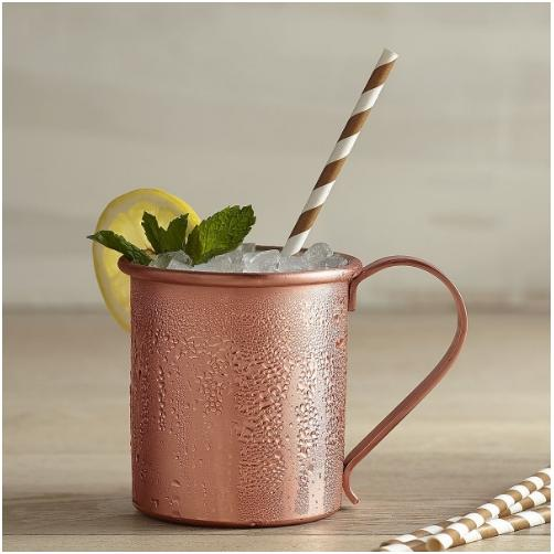 Modern Copper And Metal Collection Smooth Moscow Mule Mug