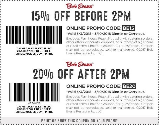photo relating to Bob Evans Coupons Printable titled Bob Evans Discount codes 2018 Printable Comparable Search phrases