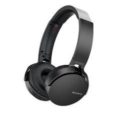 Sony MDR-XB650BT - XB Series - headphones with mic - full size - wireless - Bluetooth