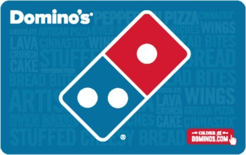 Domino's $25 Fast Email Delivery Gift Card