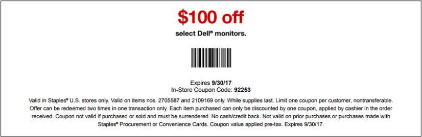 Save $100 On Office Supplies