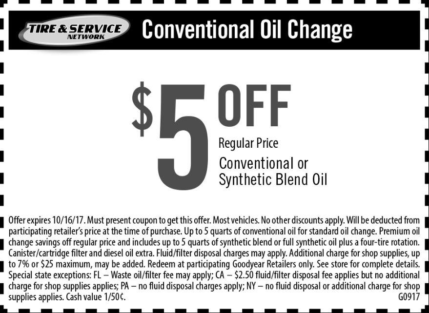 Save $5 On Car Mainteinance And Services