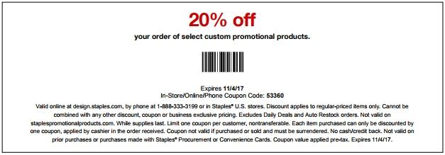 Take 20% Off Customized Products