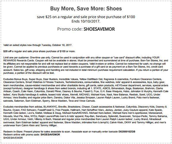 Get $25 Off Shoes