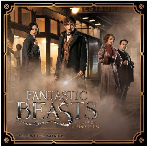 20% Off Fantastic Beasts 2017 Wall Calendar