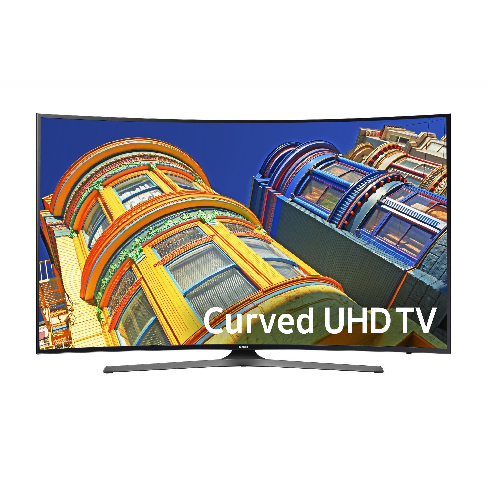 53% Off SAMSUNG 55'' 6500 Series - Curved 4K Ultra HD Smart LED TV - 21600p,120MR (Model#:UN55KU6500)