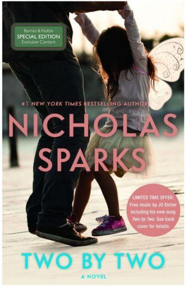 65% Off Two by Two by Nicholas Sparks Hardcover