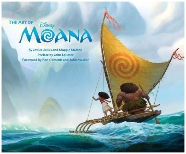 65% Off The Art of Moana Hardcover