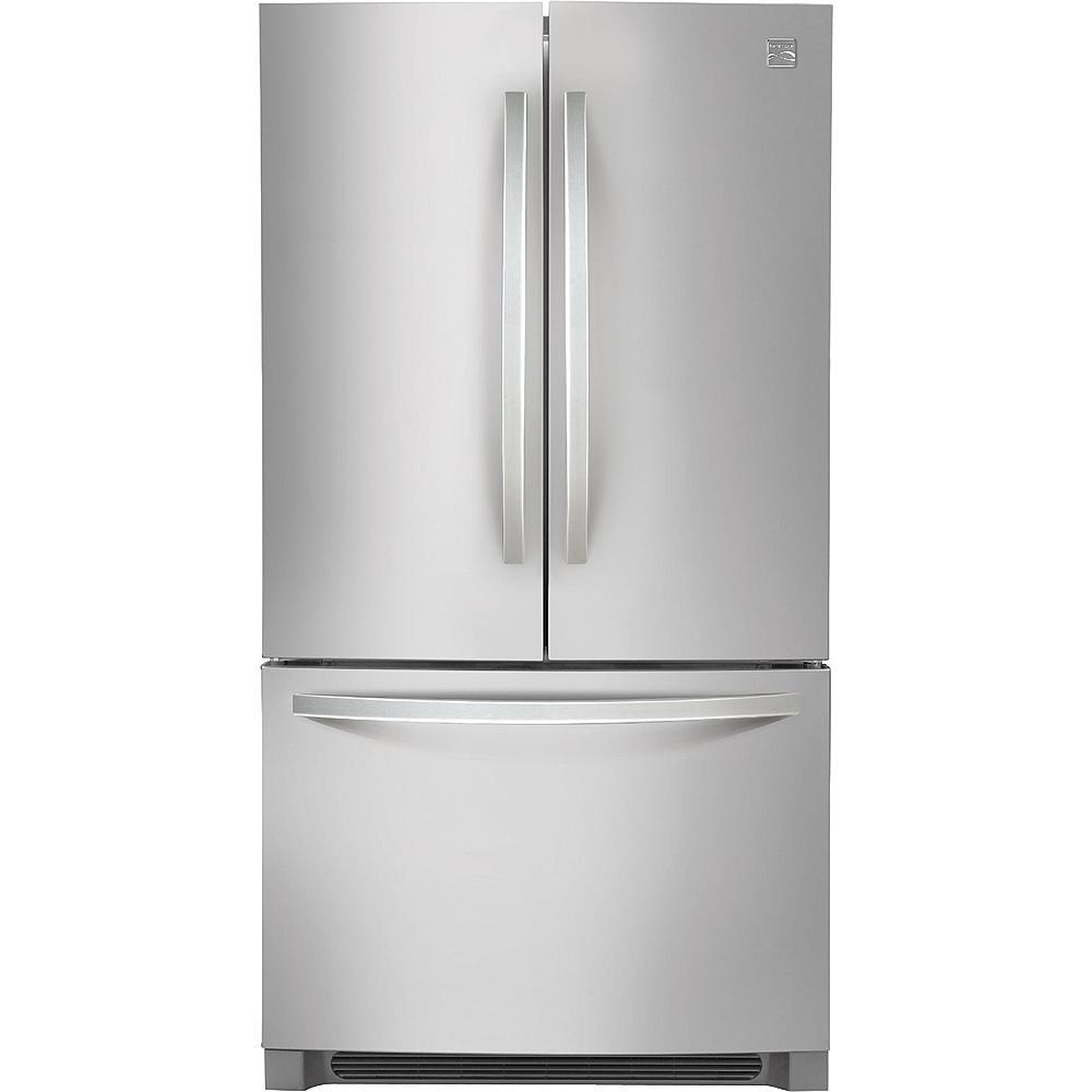 50% Off Kenmore 70413 27.6 cu. ft. French Door Refrigerator - Stainless Steel