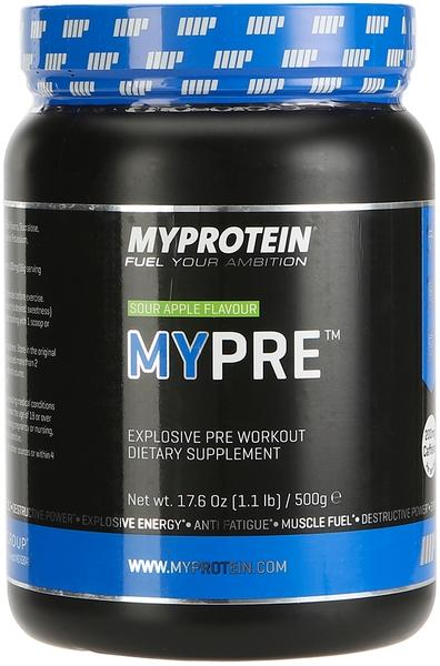 10% Off MYPRE - 1.1lb - Tub - Blue Raspberry