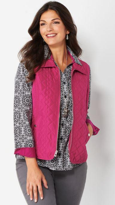 58% Off Diamond Quilted Vest