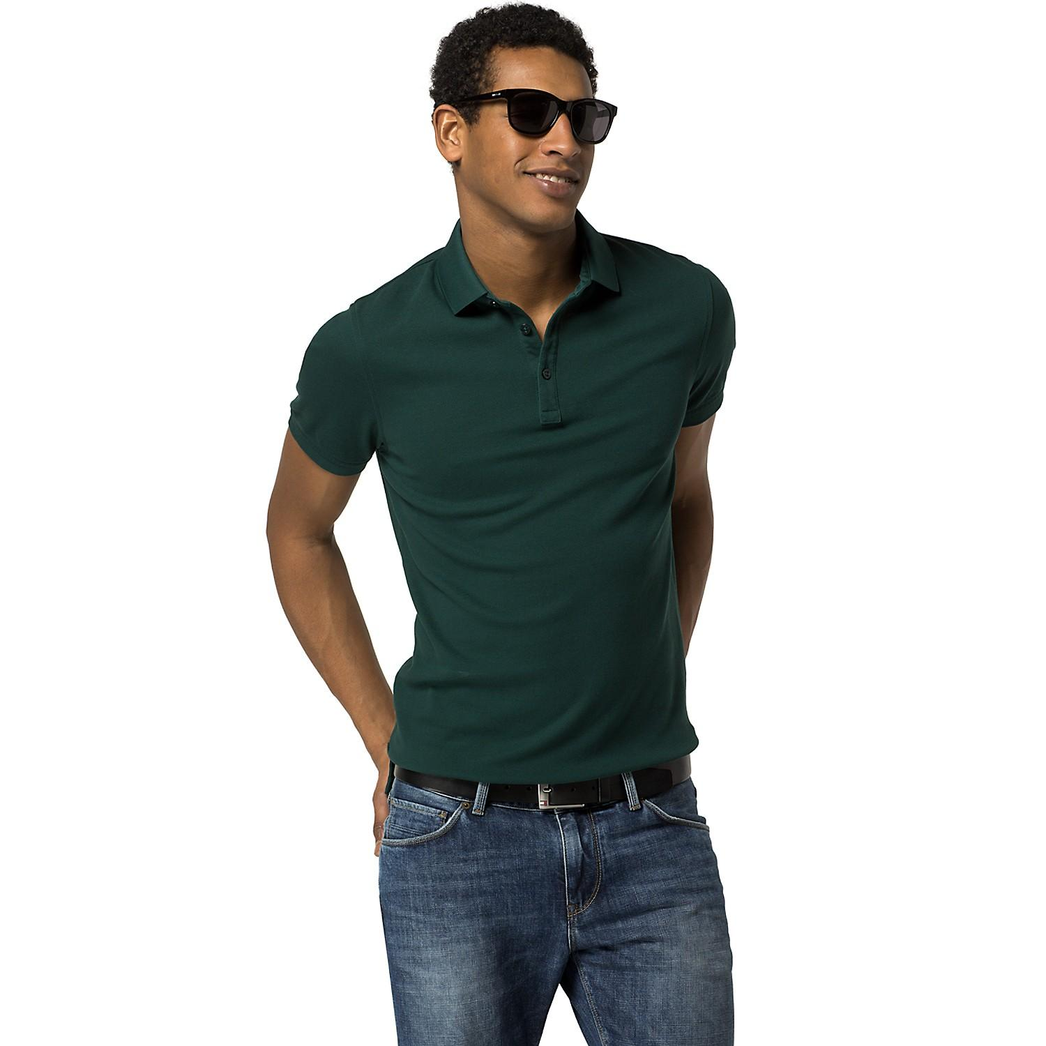 43% Off Slim Fit Solid Polo