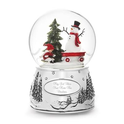 20% Off Make-A-Wish Child and Snowman Snow Globe