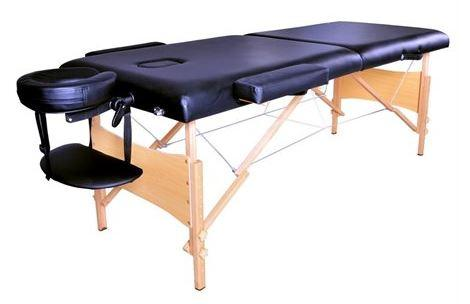 58% Off 84'' Black Portable Massage Table with Free Carry Case T1 Chair Bed Spa Facial