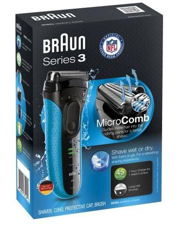 49% Off Braun Series 3 3040s Wet & Dry Electric Shaver