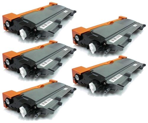 15% Off Compatible Brother TN450 High Yield Toner Cartridge 5-Pack Black