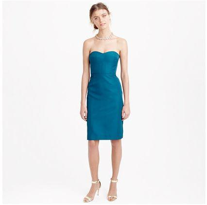 72% Off Rory Strapless Dress in Classic Faille