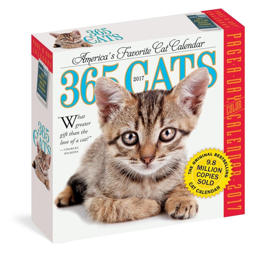 28% Off 365 Cats Desk Calendar