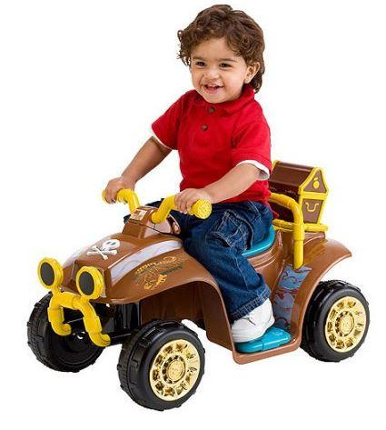 63% Off Kid Trax Jake and the Never Land Pirates Quad 6-Volt Battery-Powered Ride-On