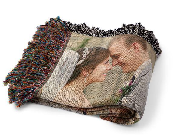 70% Off Woven Photo Blanket