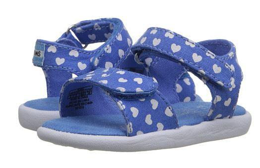 50% Off Toms Kids Strappy Sandal (Infant/Toddler/Little Kid)