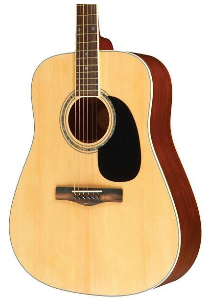 54% Off Mitchell MD100 Dreadnought Acoustic Guitar Natural