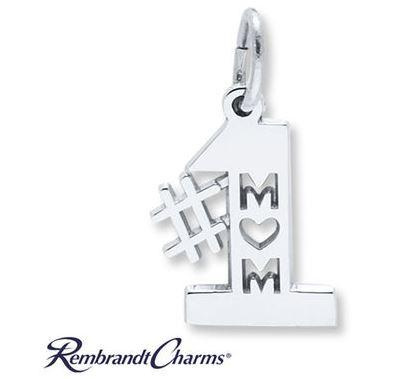 20% Off Kay Jewelers #1 Mom Charm Sterling Silver