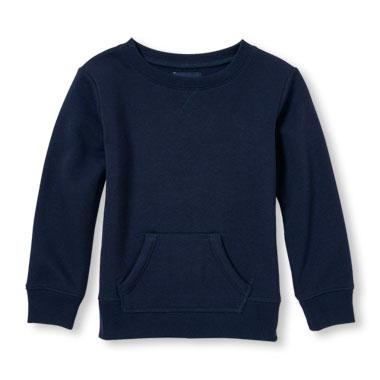 Girls Long Sleeve Active Pullover