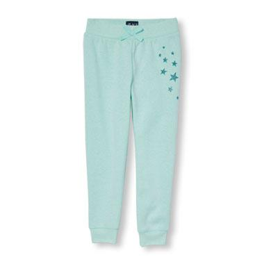 Girls Active Glitter Graphic Sweatpants