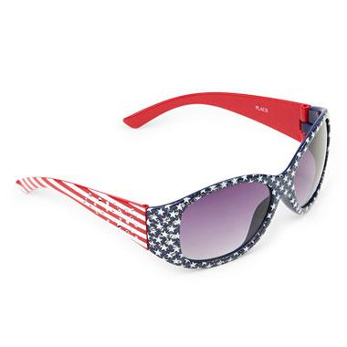 Girls Embellished Americana Sunglasses