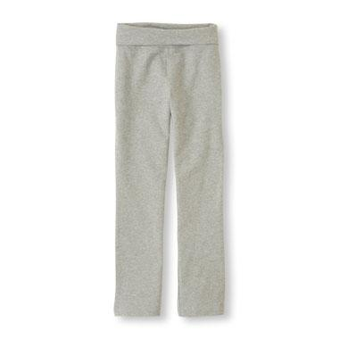 Girls Skinny Foldover Active Pant