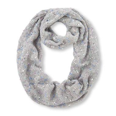 Girls Multicolor Knit Infinity Scarf