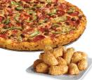 Large 3 Topping Pizza and  16 Piece Parm Bites Carry Out Only