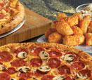 2 Medium 2 Topping Pizzas and 16-Piece Parmesan Bread Bites