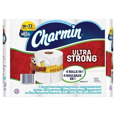 Ultra Strong Charmin Mega Roll