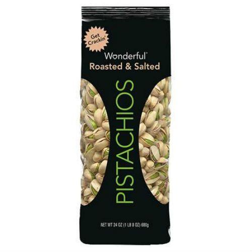 Wonderful Pistachios Pouch Roasted And Salted