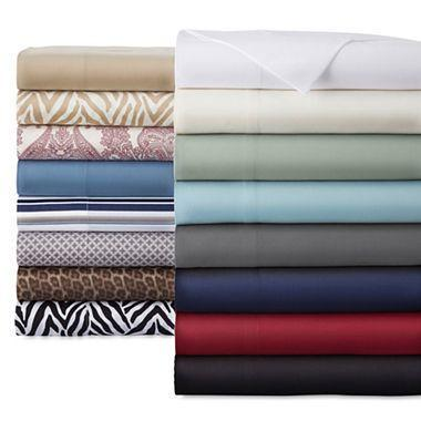 Fine Fabric Microfiber Sheet Set