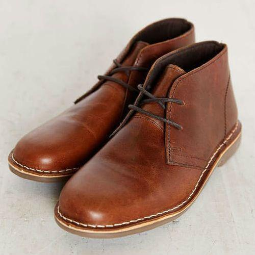 Urban Outfitters UO Leather Desert Boot
