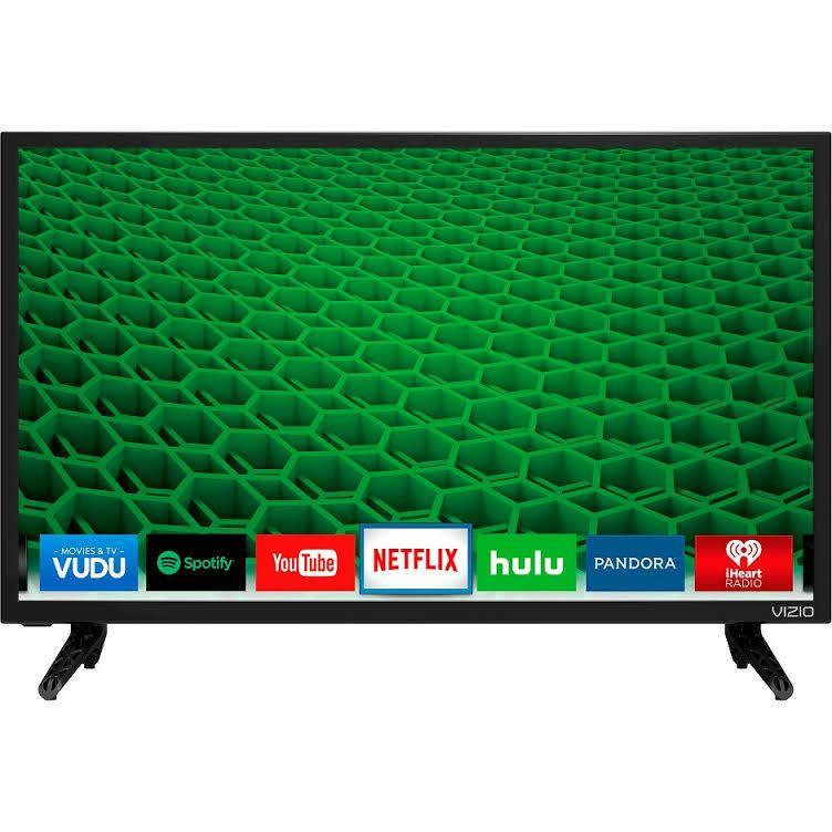 Ultra Modern 43 Inch Smart Vizio Led HD TV Plus Dell EGift Card