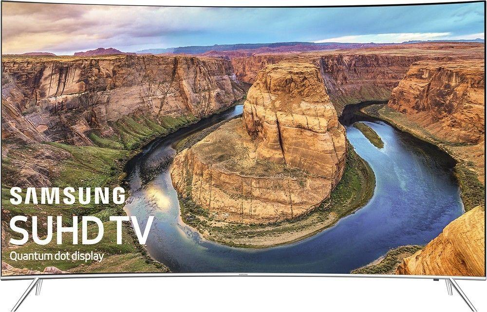 Samsung 55 Curved 4K UHD Smart TV Plus $300 GC