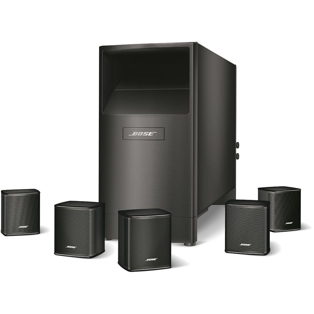 Redesigned Virtually Invisible Acoustimass 6 Series V Home Theater Speaker System