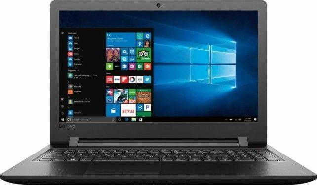 Ebony black 1TB Hard Drive Intel Core i3 Lenovo Laptop